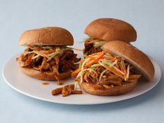Get Quick Pulled Pork Sandwiches Recipe from Food Network