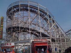 The famous Cyclone Coney Island, NY