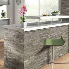 1000 images about cuisine on pinterest bar designs for Plaquettes de parement castorama