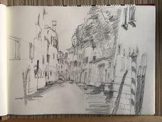 Venedig, Skizze