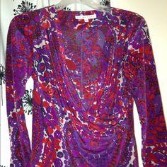 Silk top. Size p 100% silk Trina Turk Tops Blouses