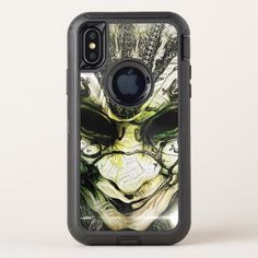 Incredible Fractal Deep Dreams of a Venetian Mask OtterBox Defender iPhone X Case - beauty gifts stylish beautiful cool