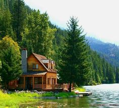Lakes Lake House Mountain Calm Lakeshore Water Nice Summer Nature Cabin Beautiful Greenery Lovely River Pretty Cottage Green Riverbank Shore Fullscreen