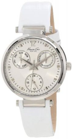 Kenneth Cole New York Women  s KC2761 Dress Sport Silver Multi-Function  Watch ccc68685317