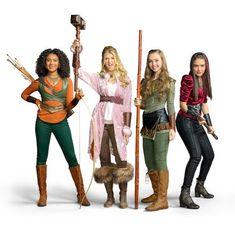 Ladies of Knight Squad Knight Squad, Daniella Perkins, Nickelodeon Shows, Knight Party, Larp, Disney Movies, Savannah Chat, Cute Kids, Wonder Woman