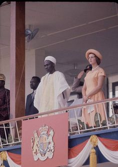 Princess Alexandra (Alexandra, The Honourable Lady Ogilvy is the youngest granddaughter of King George V and Queen Mary) visited Lagos in October 1960 to open the newly independent Nigerian Federal Parliament.