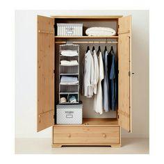 IKEA Fan Favorite: HURDAL linen cabinet. The solid pine shows off ...