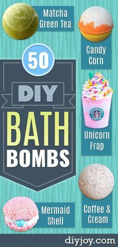 DIY Lavender Bath Bombs Ingredients: This recipe creates about 12 bath bombs. Pot Mason Diy, Mason Jar Crafts, Fondants Pour Le Bain, Diy Bath Bombs Easy, Homemade Bath Bombs, Chalk Paint Mason Jars, Bombe Recipe, Bath Bomb Recipes, Wine Bottle Crafts