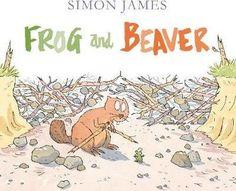 Frog and Beaver : Simon James : 9781406359862 Portfolio Book, Portfolio Design, Portfolio Layout, Retro Logos, Vintage Logos, Simon Walker, Ad Design, Graphic Design, Pen And Watercolor