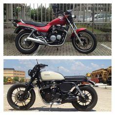 i was i am Honda cb650 nighthawk Aniba Motorcycles.