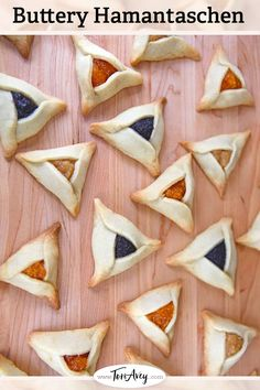 Buttery Hamantaschen - Learn to make buttery hamantaschen dough, easy to work with for any filling. Rich, delicious, orange-scented cookies. | ToriAvey.com #cookies #dairy #kosher #butter #hamantaschen #holidaycookies #purim #cookiefilling #hamanshats #howto #kitchentips #purimcookies #cookieartistry #nomnom #dessert #baking #bakingproject #bakethis #todayIlearned #holidayproject #jewishholidays