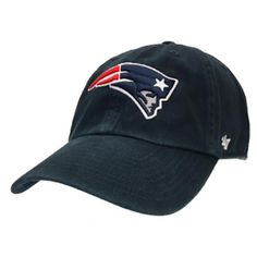 6968347387c  47 Brand New England Patriots Clean Up Adjustable Hat (Navy)