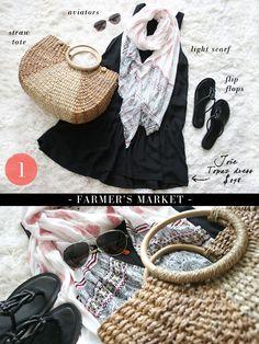 1 DRESS, 5 WAYS Summer Style - Erika Brechtel