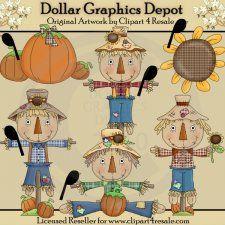 Stanley Scarecrow - Clip Art