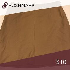 The Limited Stretch Skirt The Limited Stretch Khaki Mini Skirt.  Size 12 The Limited Skirts Mini