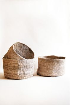 "- hand woven banana leaf basket - floppy edge design - 15"" x 9"" - Handmade in Rwanda by local female artisans Indego Africa is a nonprofit social enterprise & lifestyle brand that empowers women in Rw"