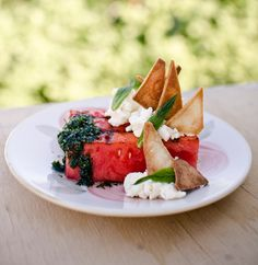 Watermelon and Fetta Salad - Chefs Pencil