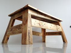 You can find tons of upcycling with shipping pallets, but these german designer( Produktwerft )makes coffee tables with a design a...
