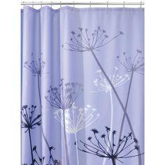 Amazon com   InterDesign Thistle Shower Curtain  Purple and Gray  72 Inchpurple   gray silver color combo LOVE Pretty  Shower  Curtain  . Grey And Purple Shower Curtain. Home Design Ideas