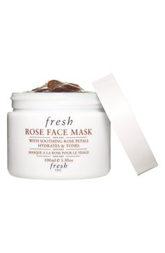 Fresh Rose Face Mask-I love this mask-It Soothes, Hydrates & Tones-Use once a week! #beautyglow
