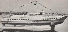 Foto: Edvin Olsvold   HYDROFOIL VINGTOR «Vingtor» var den første hydrofoilbåten som ble satt i rutetrafikk i Norge. Den gikk i trafikk på strekningen Stavanger-Kopervik-Haugesund-Bergen fra 1960 til 1974.
