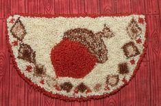 miniature punch needle rug pattern