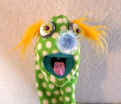 Your place to buy and sell all things handmade Hand Puppets, Paisley, Finger, Polka Dots, Fabric, Handmade, Etsy, Tejido, Tela