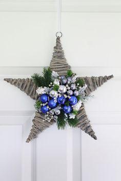 Decofleur Felt Christmas Ornaments, Christmas Star, Christmas Toys, Handmade Christmas, Christmas Wreaths, Country Christmas Decorations, Xmas Decorations, Holiday Decor, Christmas Program