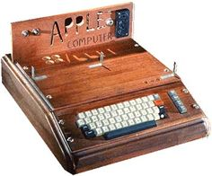 """Apple APPLE 1 The story of the development of the Apple 1 has became a """"legend"""". Here's how it goes: Steve Wozniak, was working for Hewlett-Packard at the time, wanted to build his own computer. He couldn't afford the Intel 8080 CPU (this CPU was very popular then, as it was used in the Altair 8800 & IMSAI 8080, but was pretty expensive). He would have used the Motorola 6800 but it was also much too expensive."""