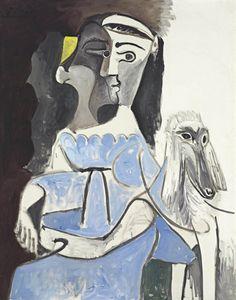 Pablo Picasso, Femme au chien