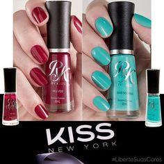 Feliz que a @kissnybrasil finalmente chegou ao mercado de esmaltes com a linha RK by Kiss! São 55 cores lindas e eu escolhi duas para usar e conto o motivo das minhas escolhas lá no blog (tem muuitas fotos, corre lá!) #LiberteSuasCores #ad http://unhabonita.com.br/esmaltes-rk-kiss-ny-liberte-suas-cores
