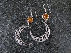 Jewelry Earrings  Filigree earrings   Silver by MorSilverJewelry