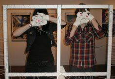 """""""Disguise Mittens"""", an interactive work created for EYEWASH EXHIBITION (2010) with Sarah Teapot"""