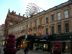 Shopping Center in Buchanan Street, Glasgow