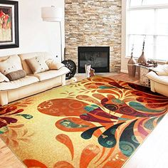 MeMoreCool Fashion HomeDesigner Boho Retro Style Living Room Floor CarpetsColorful Upscale Home Decoration MatsElegant Washable Bohemia Rugs ** Click on the image for additional details.Note:It is affiliate link to Amazon.