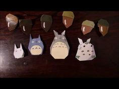 折り紙で作る「ネコバス」 - YouTube