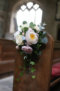 How pretty is this pew end? Peonies at their best. This pew was in Stourhead Ch… How pretty is this pew end? Peonies at their best. This pew was in Stourhead Church - Church Wedding Decorations Aisle, Wedding Pews, Wedding Ceremony Flowers, Wedding Church, Chic Wedding, Natural Wedding Flowers, Rustic Wedding Flowers, Floral Wedding, Bridal Flowers