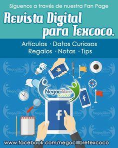 """No olvides darle """"me gusta"""" https://www.facebook.com/negocilibretexcoco/"""