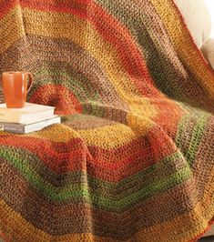 pretty, but I'm not sure I have the patience for a project this big Love Crochet, Learn To Crochet, Knit Crochet, Afghan Crochet, Freeform Crochet, Afghan Patterns, Crochet Patterns, Crochet Ideas, Crochet Crafts