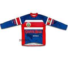 Costa Rica Long Sleeve Cycling Jersey for Men Size XL    Click on the image  for additional details.Note It is affiliate link to Amazon. d657d3e47