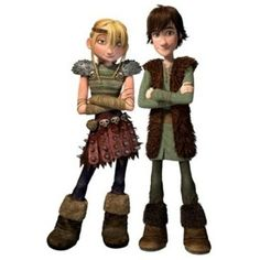 Astrid and Hiccup, they look like my son and his best girl buddy Kennedy @Katie Wagner!