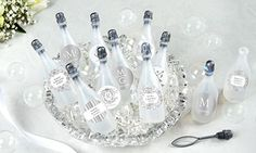 Wedding Bubbles & Poppers