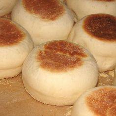 English Muffins- alton brown's recipe