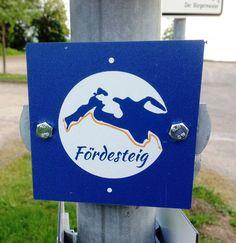 Der Wanderweg Fördesteig. Von der Dänischen Grenze bis zur Geltinger Birk.