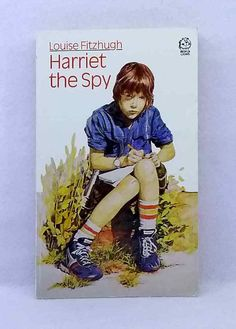Harriet the Spy by Louise Fitzhugh children's classic vintage paperback 1984 Harriet The Spy, Chapter Books, Lions, Baseball Cards, Classic, Vintage, Ebay, Derby, Lion