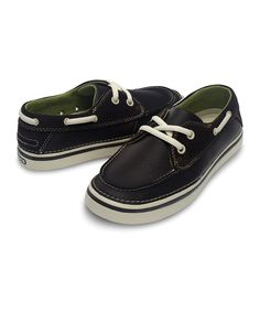 2a098870ae95e Crocs Espresso   Stucco Hover Boat Shoe - Kids