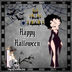 Betty Boop Halloween, Happy Halloween, Halloween Ideas, Betty Boop Cartoon, Art Images, Madness, Ash, Characters, Magic
