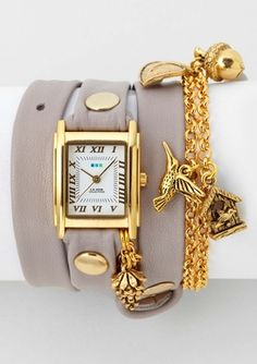 LA MER COLLECTIONS  Indian Summer Triple Wrap Watch  $54.99