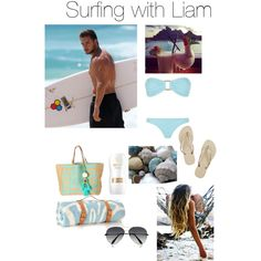 Surfing with Liam