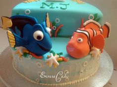 Nemo Stage Cake (B059)